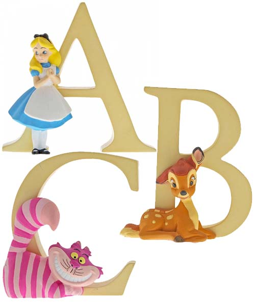 Disney Alphabet A, B and C