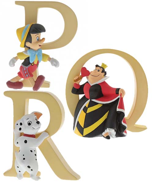 Disney Alphabet P, Q and R