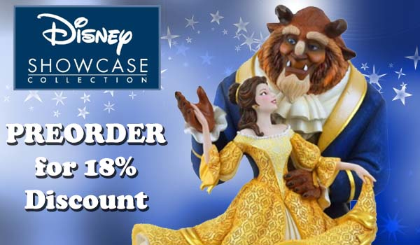 18% off preorders for Disney Showcase Beauty and the Beast Deluxe Figurine