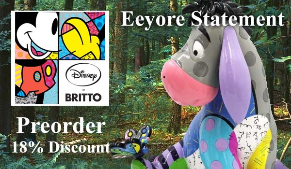 Eeyore Statement Figurine 6007098