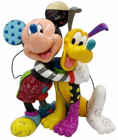 Disney by Britto and Pluto 6007094