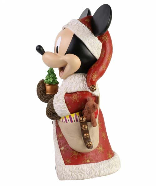 Disney Showcase Christmas Mickey Mouse Statement Figurine 6003771