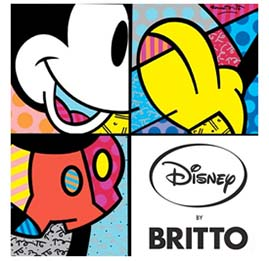 Disney by Britto Logo