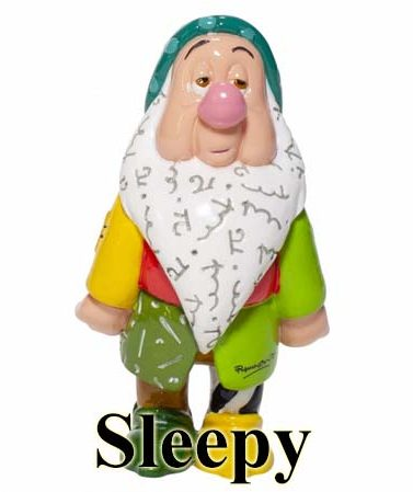Disney by Britto Seven Dwarfs - Sleepy
