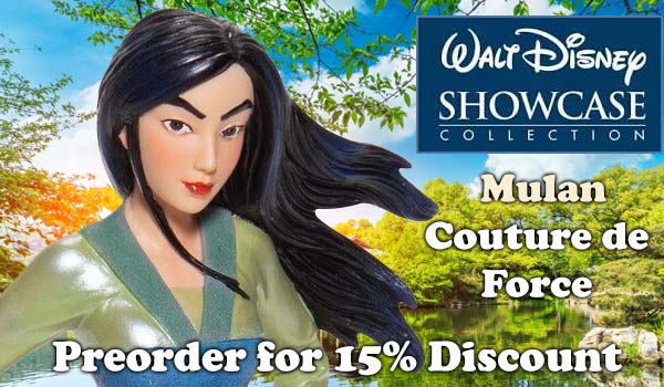 Disney Showcase Mulan Preorder