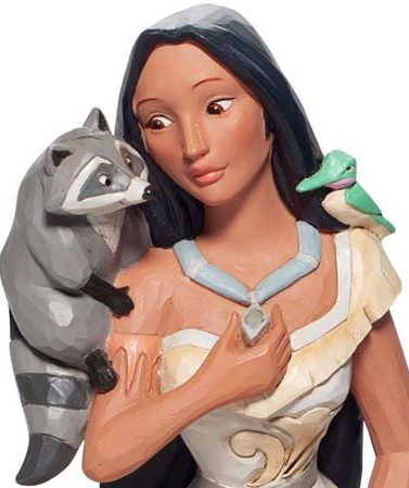 Disney Traditions Brave Beauty Pocahontas Figurine 6007062