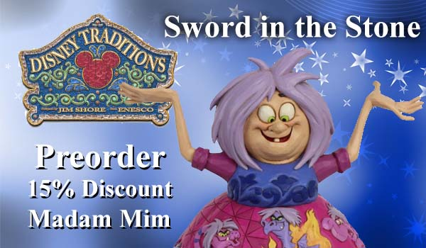 Disney Traditions Madam Mim Figurine 6007072