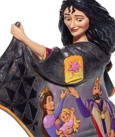 Disney Traditions Mother Gothel with Rapunzel Scene Figurine 6007073